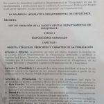 Por decisión de más de 2/3 de la ALDCH:  CHUQUISACA CONTARÁ CON UNA GACETA OFICIAL DEPARTAMENTAL